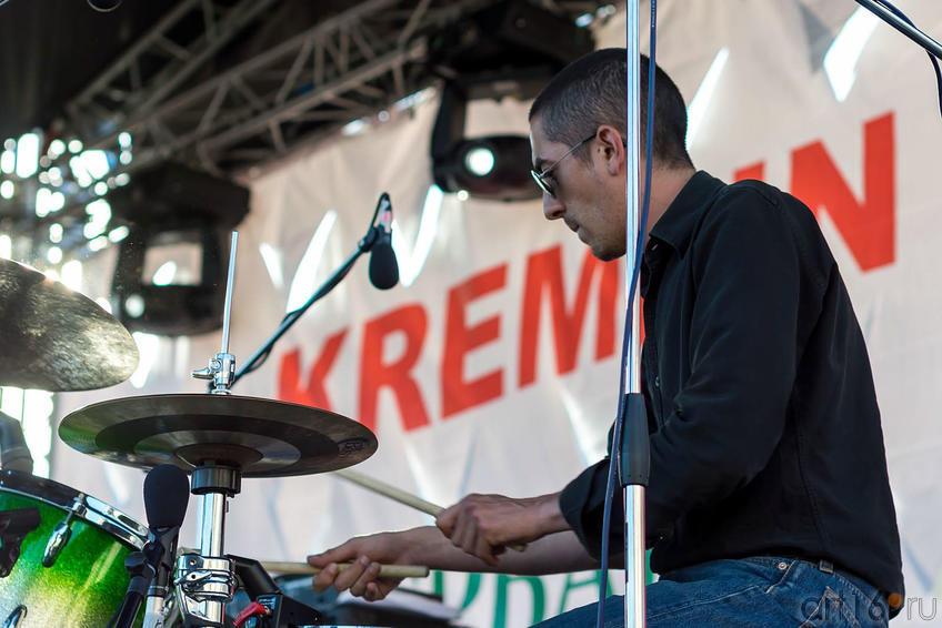 Французская группа ʺMustangʺ::V Фестиваль Современной Культуры Kremlin LIVE'13