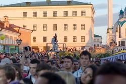 На Пушечном  дворе. Казанский кремль. Kremlin LIVE-2013