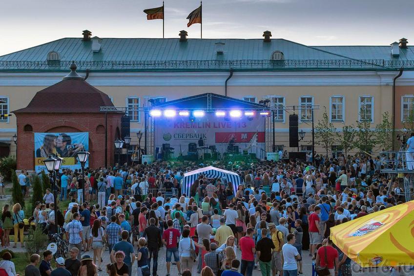 Концерт в Пушечном дворе, Казанский кремль::V Фестиваль Современной Культуры Kremlin LIVE'13