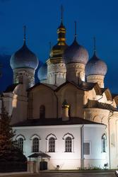 Благовещенский собор Казанского Кремля. Ночной снимок