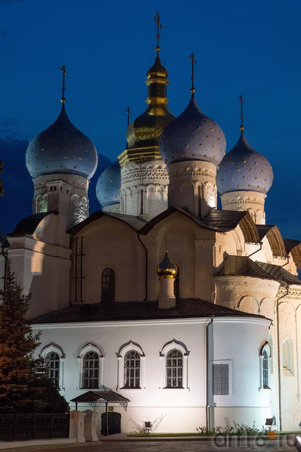 Благовещенский собор Казанского Кремля. Ночной снимок::V Фестиваль Современной Культуры Kremlin LIVE'13
