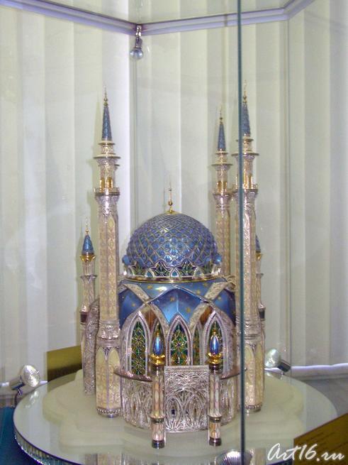 Макет мечети Кул Шариф::Центру «Эрмитаж-Казань» —Три года!