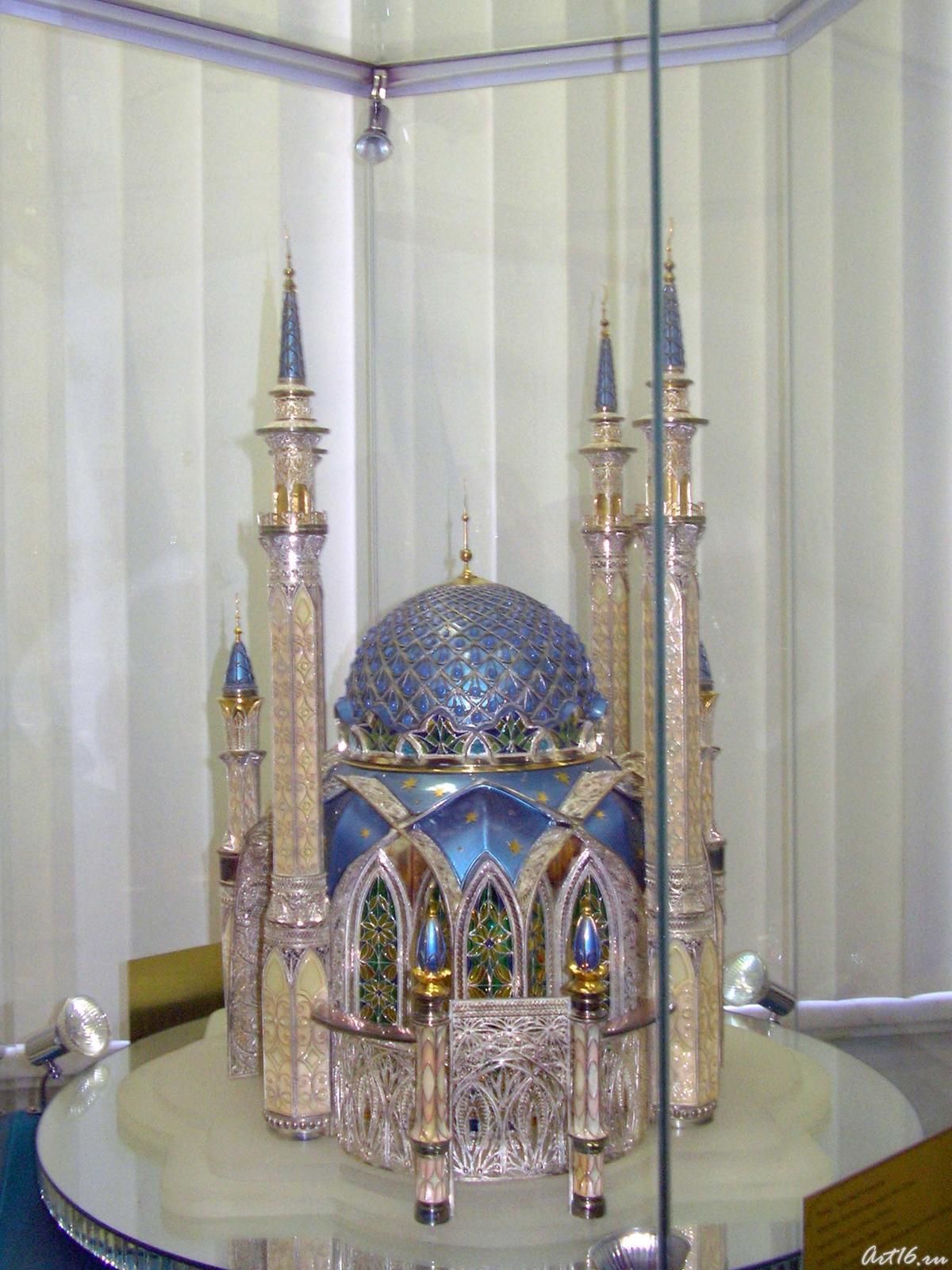 Фото №16696. Макет мечети Кул Шариф
