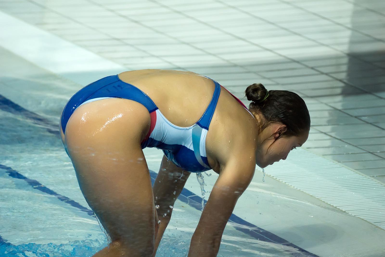 Секс бывших пловчих спортсменок