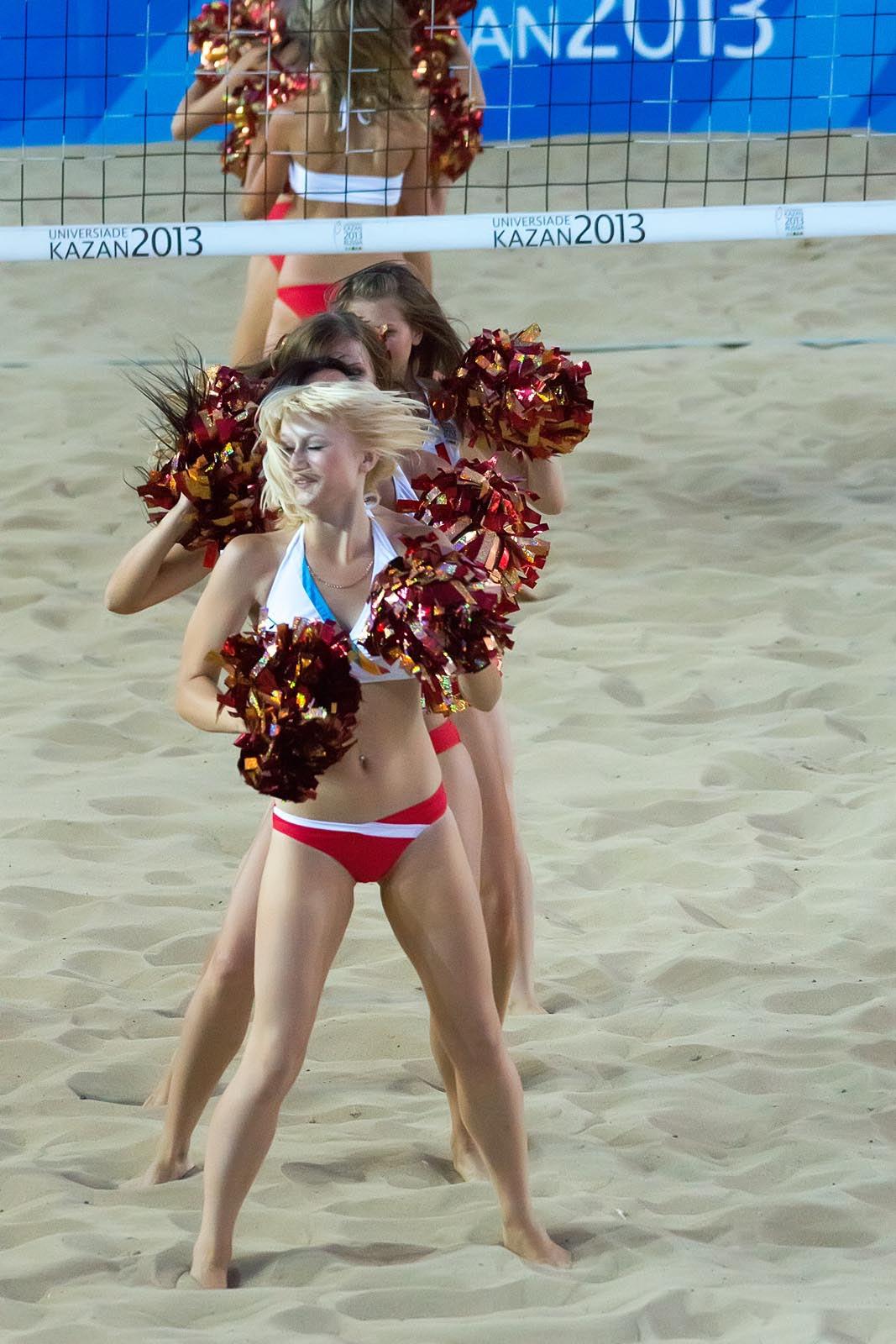 Фото №168766. Группа поддержки мужской волейбольной команды ''Белогорье'', г.Белгород
