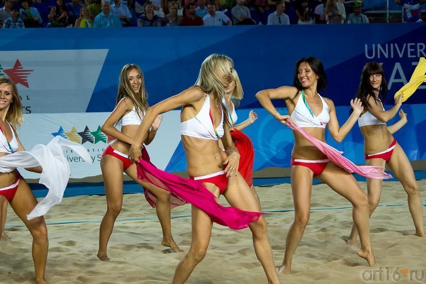 Фото №168796. Шоу-группа «Лидер» - группа поддержки мужской волейбольной команды ''Белогорье'', г.Белгород