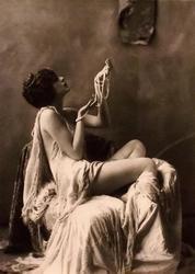 Актриса Вилли Дав. Ч/б фото из коллекции Гершанова