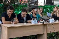 Пресс-конференция с Этери Бериашвили и бэндом Beriashvili-Losev Group (Москва). 8.06.2013