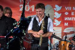 Святослав Текучев — саксофон. Джаз в усадьбе Сандецкого. 8.07.2013
