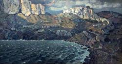 Пустынная страна. Феодосия. 1903. Богаевский К.Ф., 1872-1943 х., м.