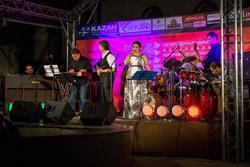Этери Бериашвили и бэнд Beriashvili-Losev Group (Москва). Джаз в усадьбе Сандецкого, 8.08.2013