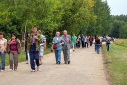 Пешая прогулка до аэродрома Куркачи. 17.08.2013. День авиации