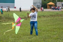 Воздушный змей.  День авиации. Куркачи. 17.08.2013