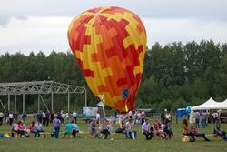 Воздушный шар. День авиации. Куркачи. 17.08.2013