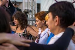 На II Международном фестивале еврейской музыки. Мастер-класс по израильским танцам