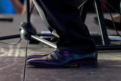 Ботинки такие, специальные, для музыкантов
