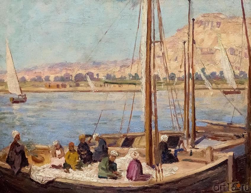 Фото №174025. ХАЛИЛЬ ПАША. ПАРУСНИКИ В ЕГИПТЕ