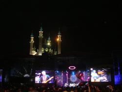 Вид на мечеть Кул Шариф с площади Тысячелетия