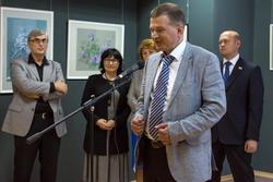 Открытие персональной выставки Андрея Бодрова