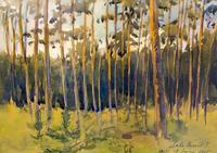 Открытие выставки, посвящённой 135-летию со дня рождения Петра Максимилиановича Дульского «Отражение пережитых настроений»