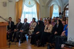 На открытии выставки «Неделя дружбы женщин Ирана и Татарстана»