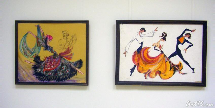 Фото №17657. Танец цыганский/ Танец классический