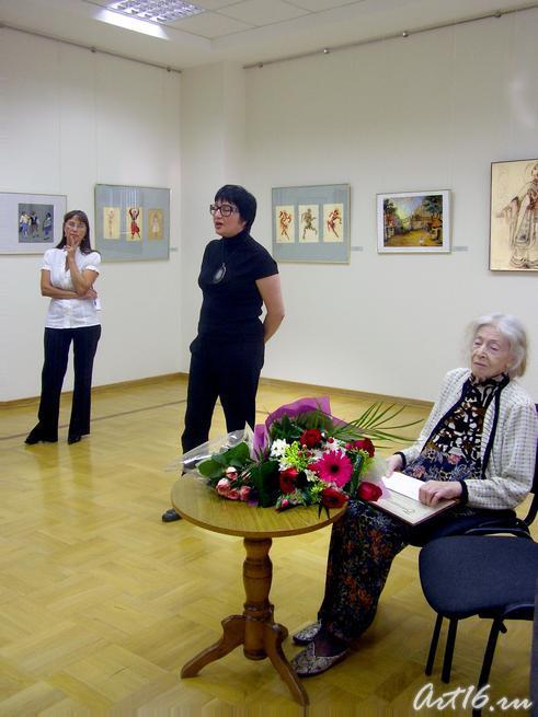 Розалия Нургалеева и Л.Сперанская::Сперанская Любовь Львовна