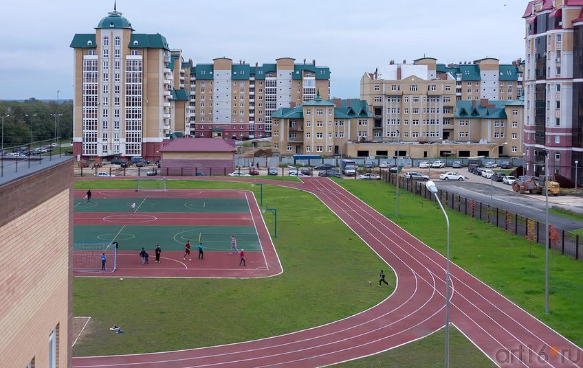 Школьный стадион::Школа № 35, Казань