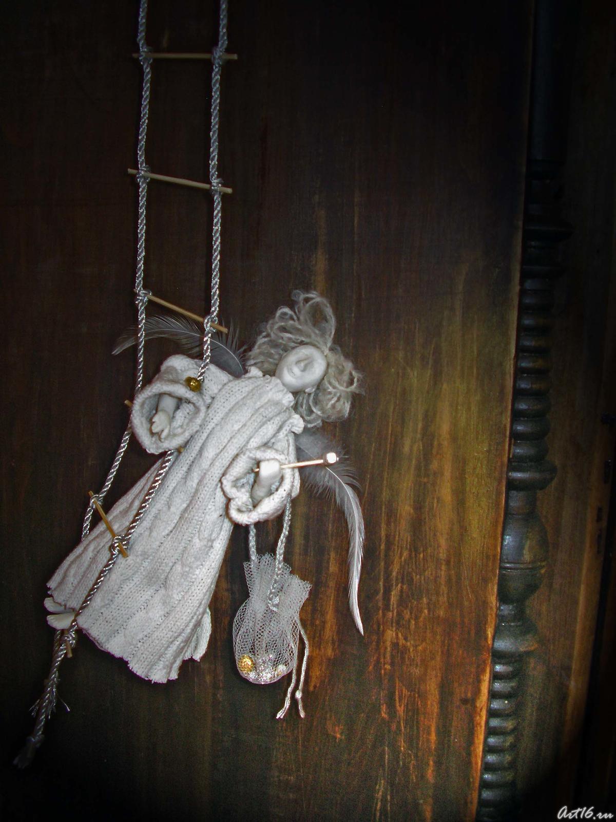 Фото №1770. Фрагмент экспозиции «Вертеп» 2007 Ермолина Елена, Юсупова Марина