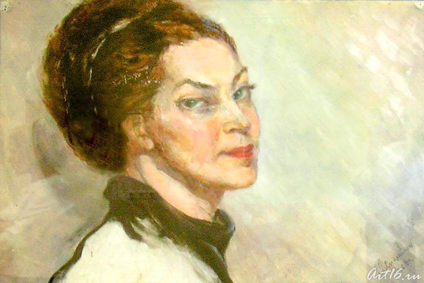 Автопортрет. 1968::Сперанская Любовь Львовна