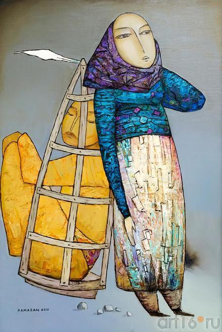 УСУИНОВ Р.Э. 1949 ТЫ И Я. 2010::Выставка «Искусство крымских татар»