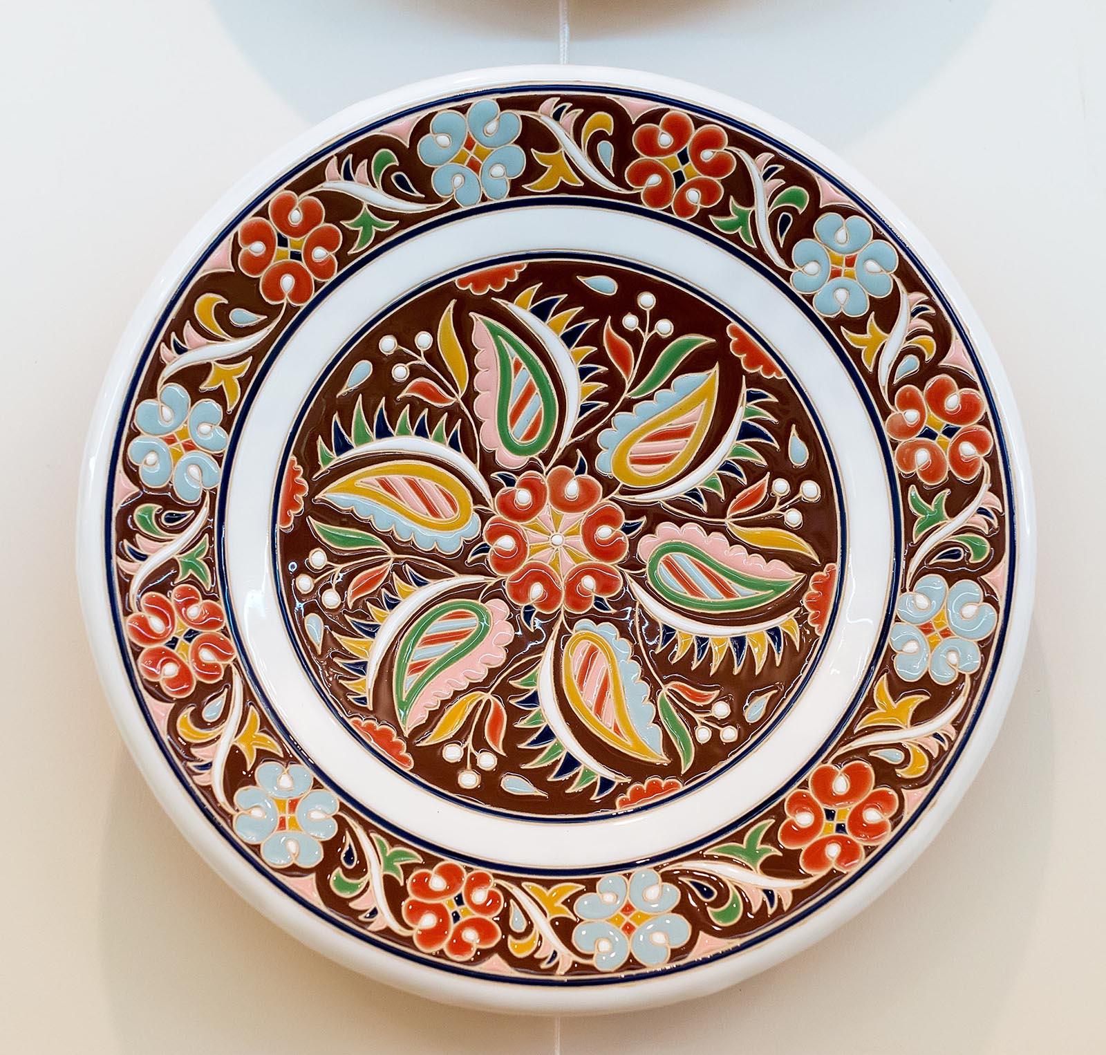 Фото №179083. Скибин Р.В.1976. Керамическое блюдо