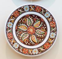Скибин Р.В.1976.  Керамическое блюдо