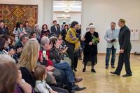 Открытие выставки «Искусство крымских татар»
