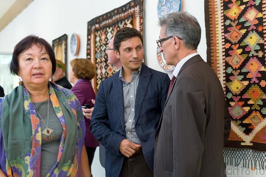 Фото №179185. Гузель Валеева-Сулейманова, Рустем Сулейманов, Наиль Валеев