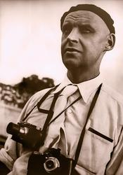 Александр Родченко на съемке