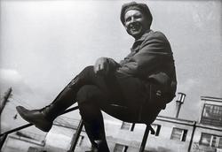 Елеазар Лангман. Александр Родченко на перилах 1930