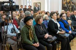 На открытии выставки «Черное золото Татарстана»