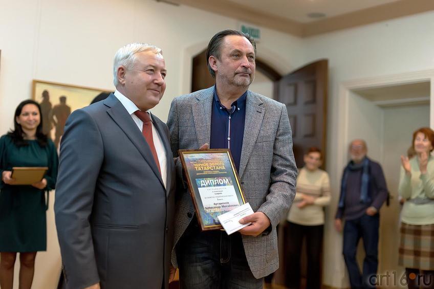 Фото №179768.  Мухамадеев Р.,  Артамонов А.