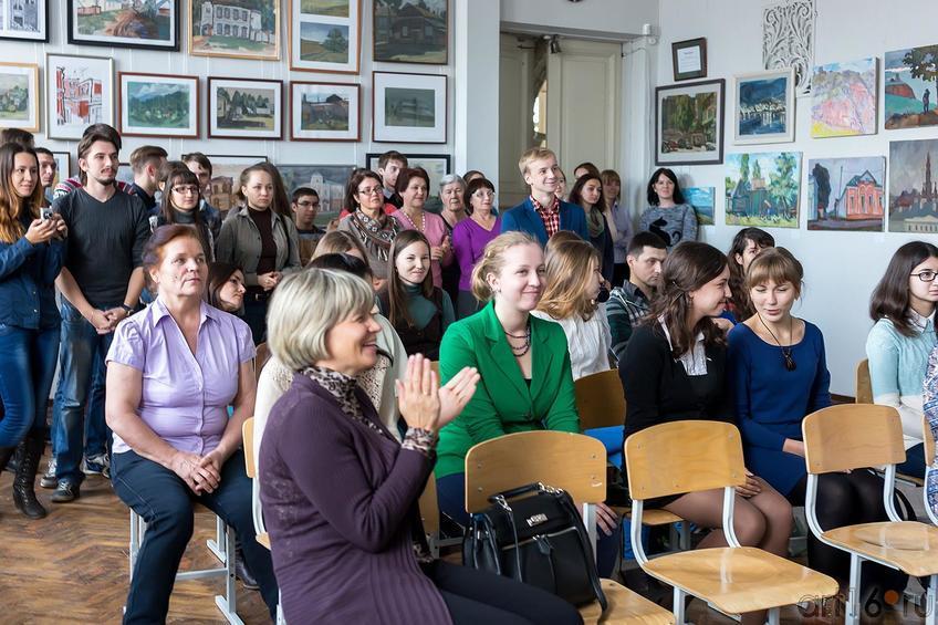 Фото №179886. Вручение студенческих билетов первокурсникам филиала МГАХИ им. Сурикова