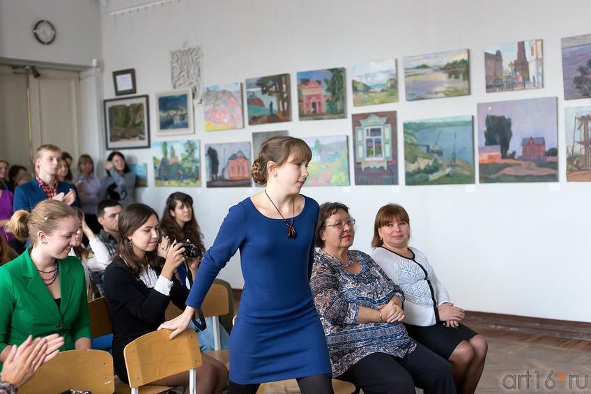 Фото №179892. Вручение студенческих билетов первокурсникам филиала МГАХИ им. Сурикова