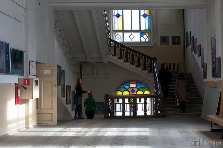 Фото №179940. Второй этаж филиала МГАХИ им. Сурикова