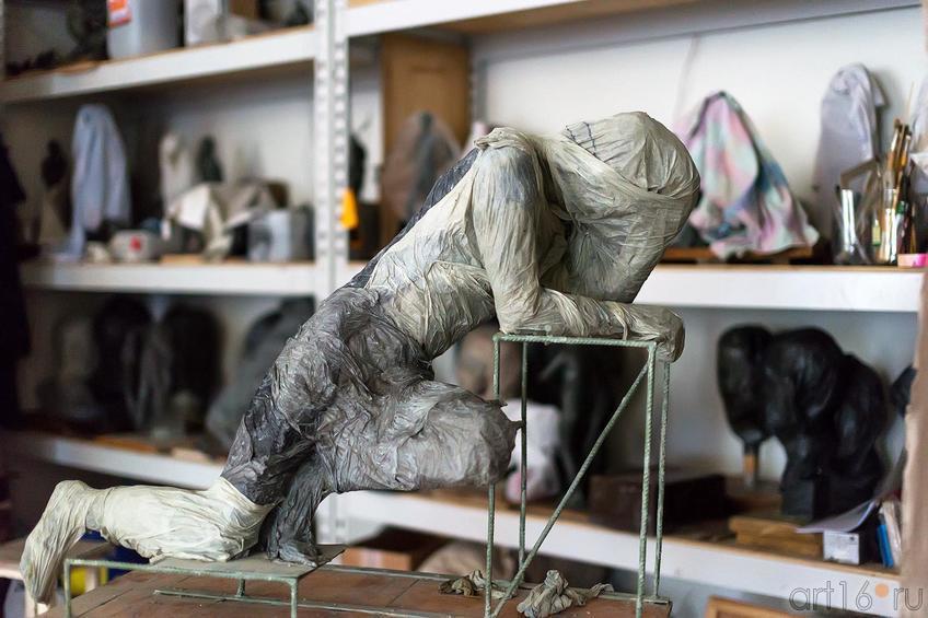 Фото №179964. Скульптурная мастерская филиала МГАХИ им. Сурикова