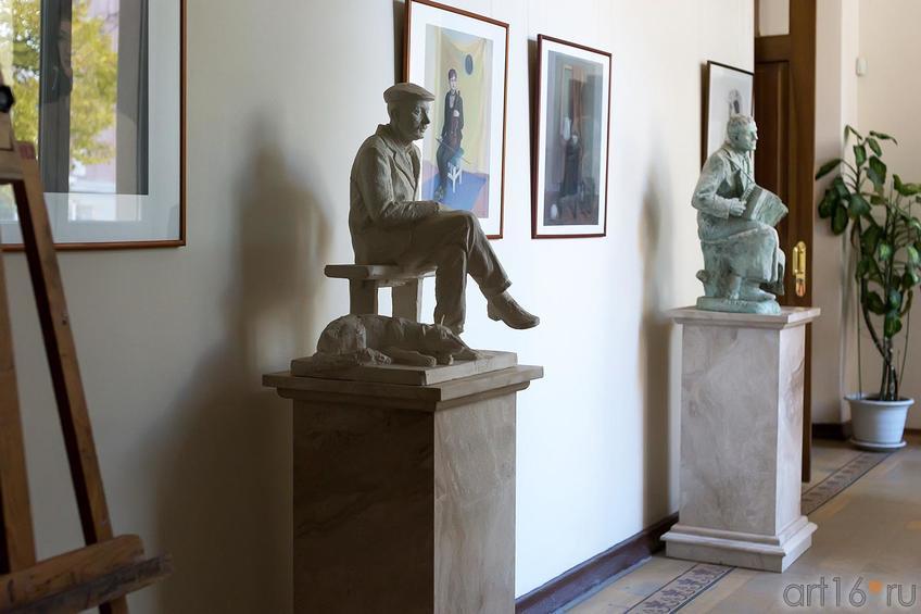 Фото №179970. В коридоре филиала МГАХИ им. Сурикова