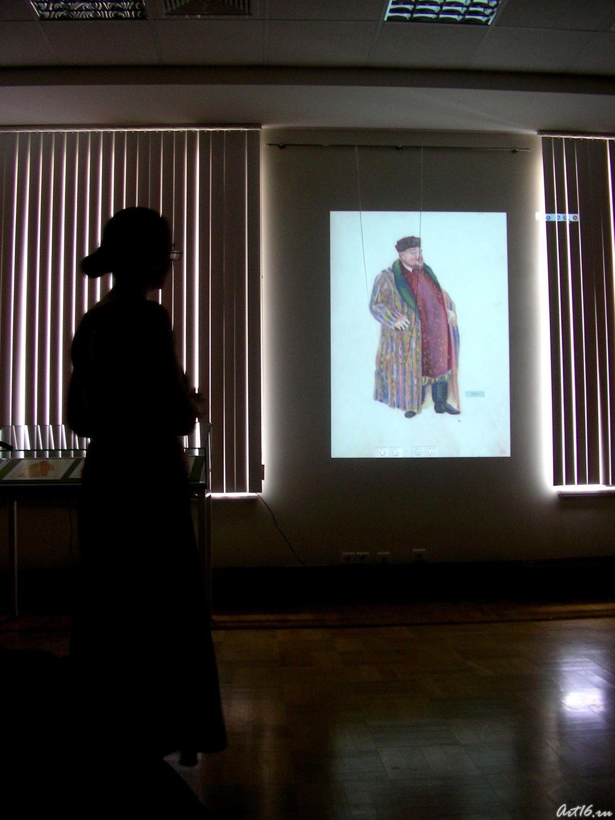 Фото №18143. О создании декораций и костюмов Л.Сперанской