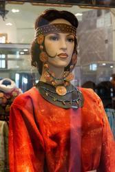 Реконструкция женского костюма эпохи бронзы. Автор р. Е.В.Куприянова