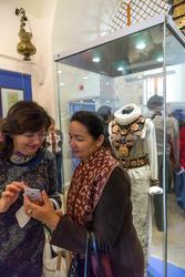 На выставке «Аркаим — Зазеркалье: XXI век до нашей эры -XXI век нашей эры»