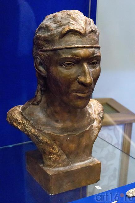 Скульптура. Облик  мужчины эпохи бронзы::Аркаим