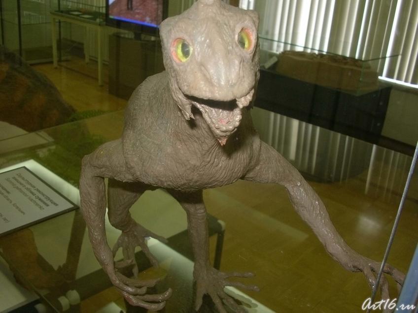 Фото №18265. Скульптурная реконструкция внешнего облика суминии
