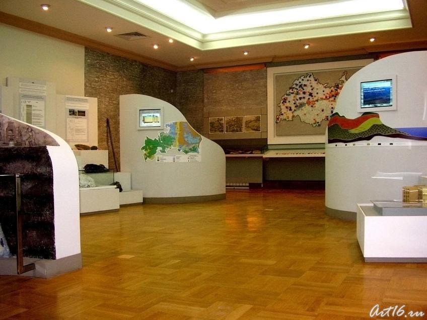 Кладовая недр::Экспозиция музея Природы